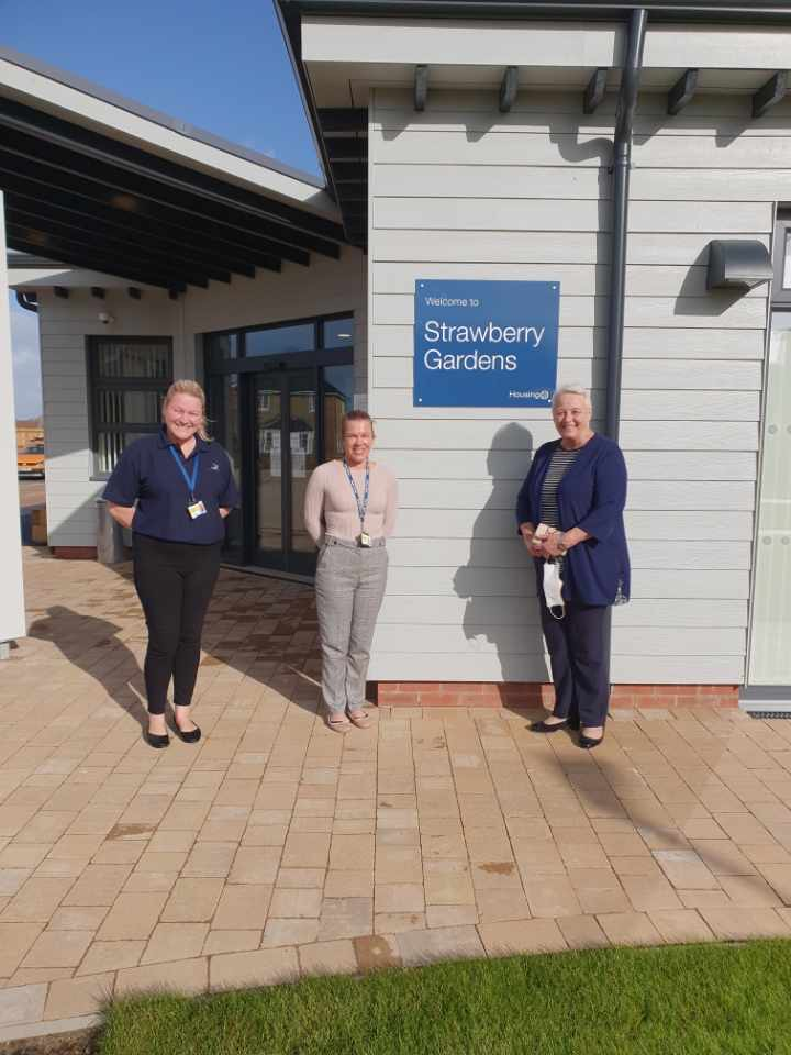 First residents welcomed into new Extra Care Housing scheme